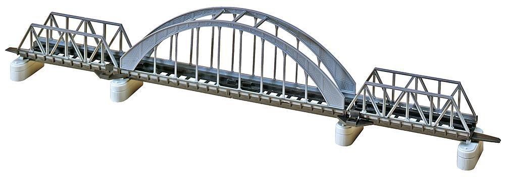 Faller 222583 Thru STL Arch Bridge N Scale Building Kit, 16''