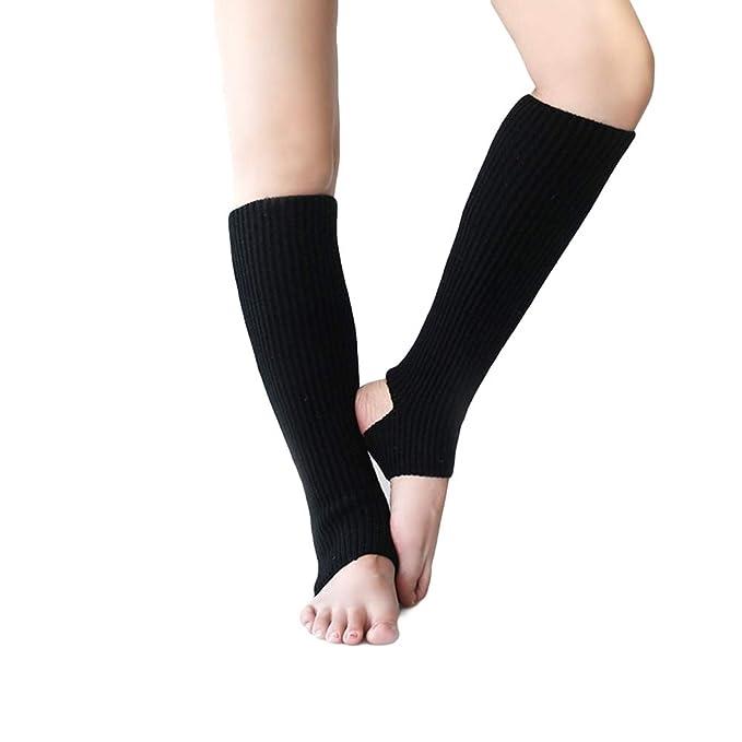 Amazon.com: ACTLATI - Calentador de piernas acanalado para ...