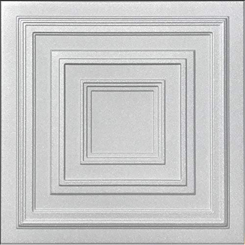 White Styrofoam Ceiling Tile Antyx Package of 8 Tiles – Other Sellers Call This Chestnut Grove and R31