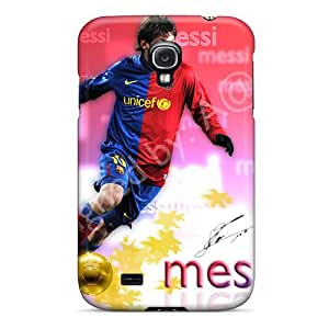 Bumper Hard Phone Cases For Samsung Galaxy S4 With Customized High Resolution Messi Pictures LauraAdamicska