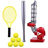 iPlay, iLearn Ball Pitching Game Machines, Baseball, Tennis, Training, Learning, Early Development, Active Toys Outdoors Sports Gaming for 3, 4, 5, 6, 7 Year Olds Kids, Toddlers, Girls, Boys Gift