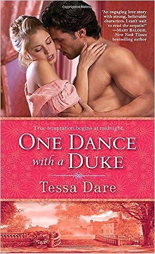 One Dance With A Duke Stud Club Trilogy Tessa Dare 8601420342361 Amazon Books