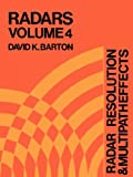 Radar Resolution and Multipatheffects, David K. Barton, 0890060339