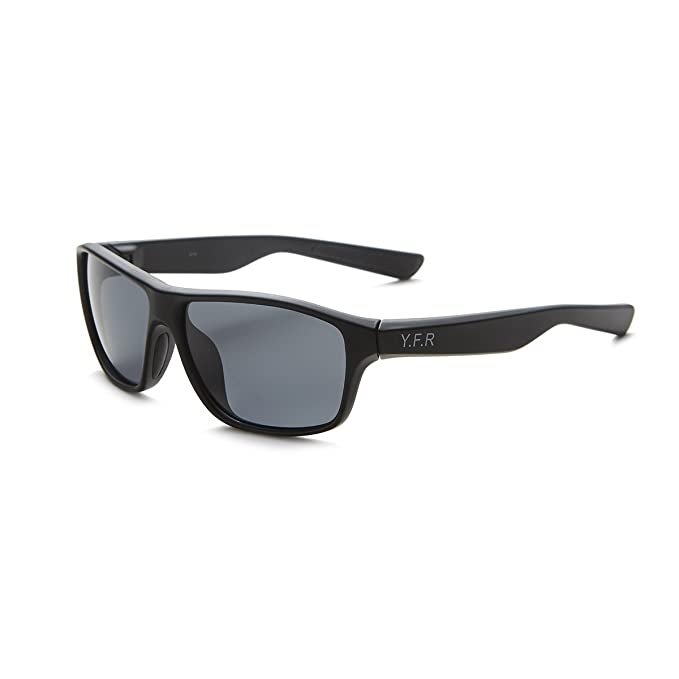 YEFENRA Gafas de Sol Deportivas Polarizadas Para Hombre Perfectas Para Esquiar Golf Correr Ciclismo (Marco