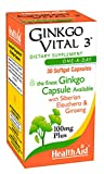 HealthAid Ginkovital +3 – 30 Capsules Review