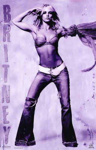Britney Spears Music Poster - Style A