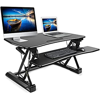 Amazon Com Simbr Standing Desk Converter Height