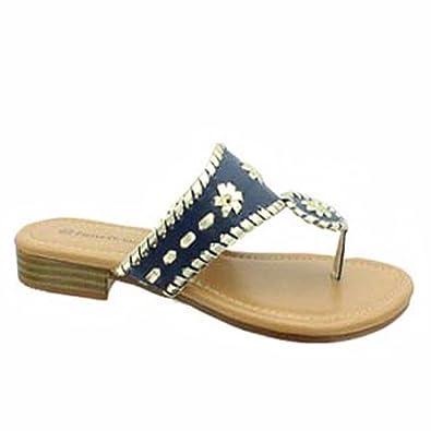 6bbb18b6a152 Pierre Dumas Womens Rosetta-1 Thong Fashion Sandal (6 B(M) US