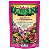 Jobe's 4128 Organic Rose and Flowering Shrub Fertilizer Food Spikes, 10-Pack