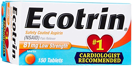 (Ecotrin 81 Mg Low Strength Aspirin Tablets, 150 Count)