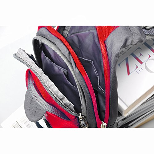 Shoulder Lc Unbalance Chest Sack Sling Small Fanny Gym Bag Prime Outdoor Bike Backpack red Satchel rq4wrcyXI