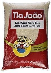 Tio Joao Long Grain White Rice 10 lbs || Arroz Tio Joao  4.54kg