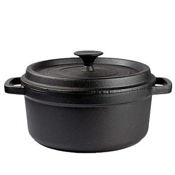 Sopa De Olla De Hierro Fundido Shabu-Shabu/Sartén Antigua/Sopa De Hierro
