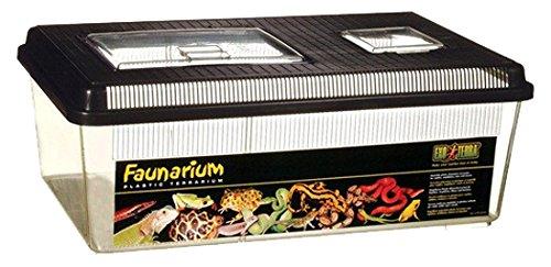 Exo Terra Faunarium, Flat Home, Large (Terrarium Plastic)