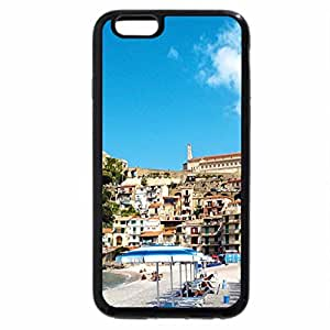 iPhone 6S Plus Case, iPhone 6 Plus Case, beautiful beach in taormina sicily
