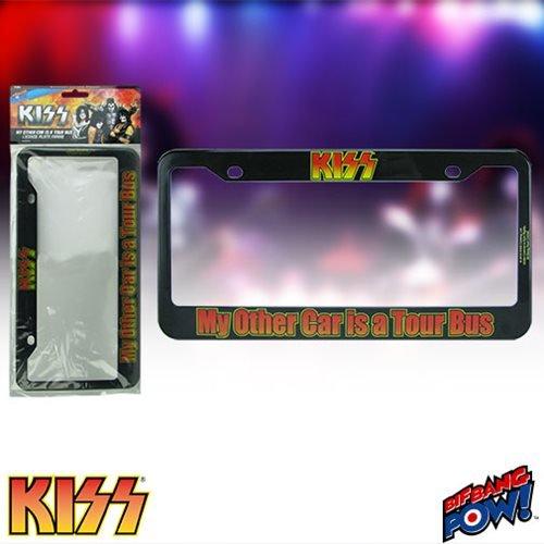 kiss license plate frame - 2
