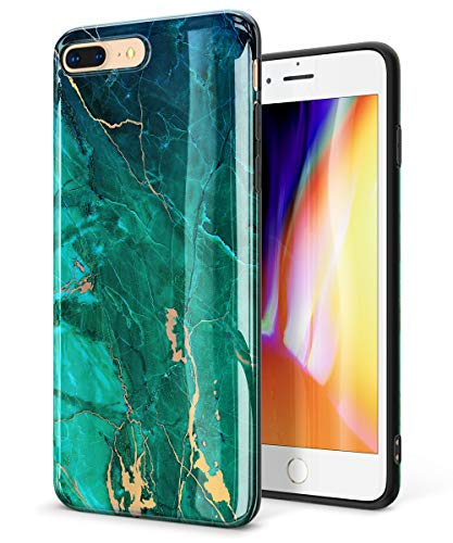 GVIEWIN Marble iPhone Silicone Compatible