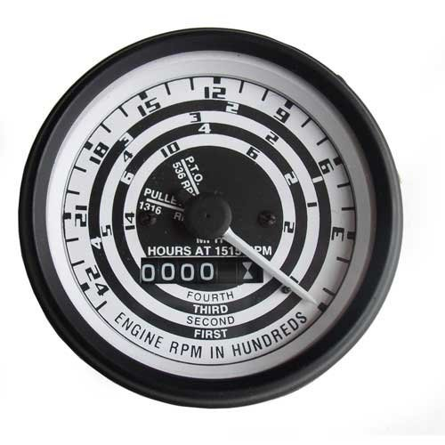 Tachometer (Proofmeter) Gauge - Aftermarket style Needle Ford 900 4030 4110 621 2120 2110 700 4140 841 4000 821 4120 701 801 800 4130 NAA 620 1821 1821 641 600 2130 2000 631 601 941 501 1801 1801 901 (Needle Tachometer)