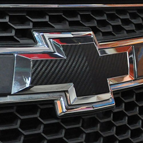 Bwen 2 PCS Black Carbon Fiber Emblem Sticker For Chevrolet Cruze 2009-2014 by Bwen (Image #5)
