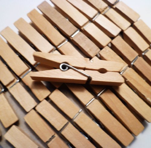 Sturdy Small Craft Clothespins pkg
