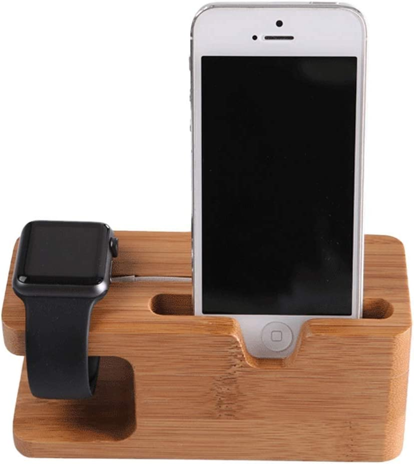 Anap Bamboo Wood Charging Stand Bracket Docking Station Cradle Holder Business Card Slot Phone Stand 51Txuf6NThLSL1002_