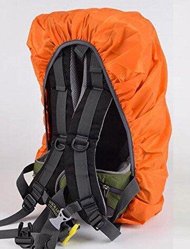 Peino Tragbar Wasserdicht Rucksack Regen Abdeckung f/ür Wandern Camping Reisen Orange