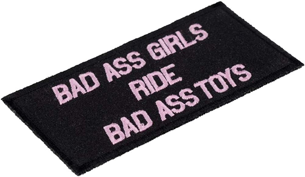 Bad Ass Girls Ride Bad Ass Toys Patch Ladies Patches