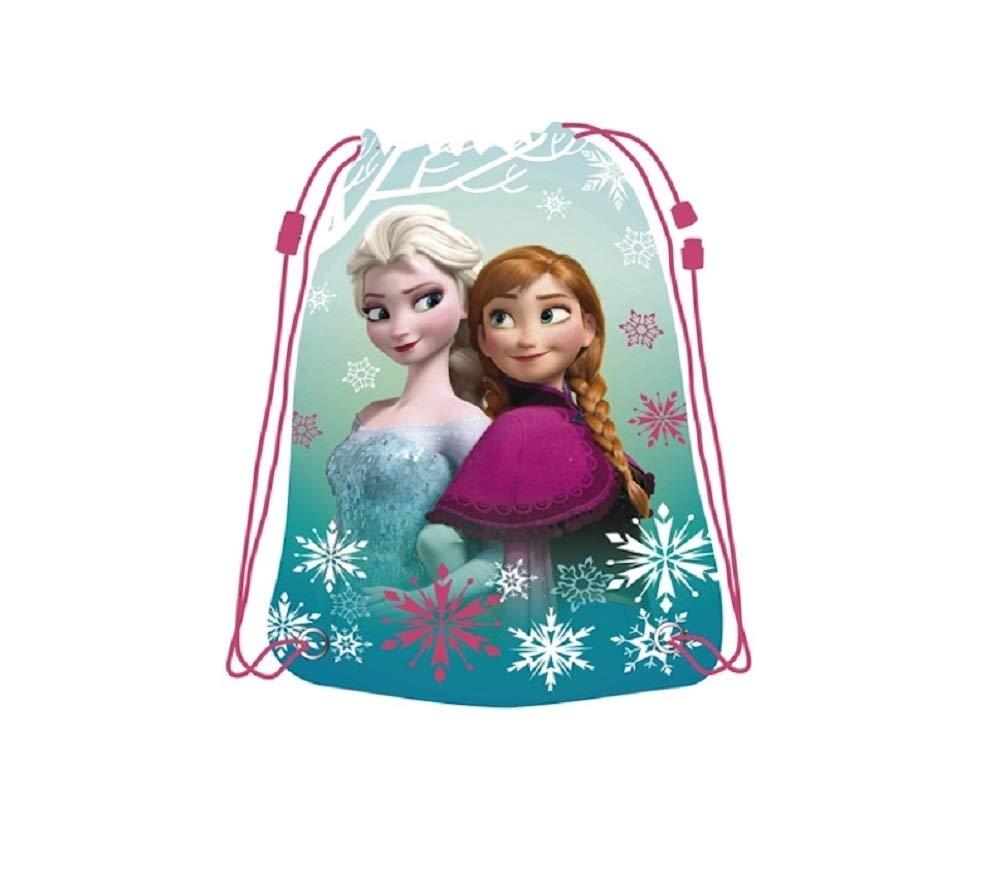 Die Eiskönigin Anna /& Elsa Turnbeutel Schuhbeutel Tasche NEU Disney Frozen