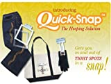 quick snap embroidery hoops - Magna Hoop Quick-Snap for Melco EP4/ Janome MB4