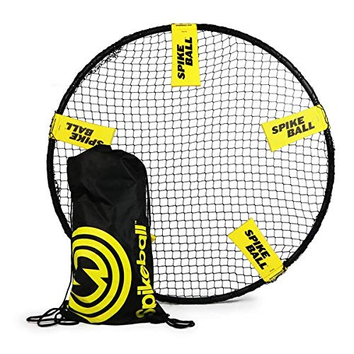 Spikeball Game Set – Played Outdoors, Indoors, Lawn, Yard, Beach, Tailgate, Park – Includes 1 Ball, Drawstring Bag, and…