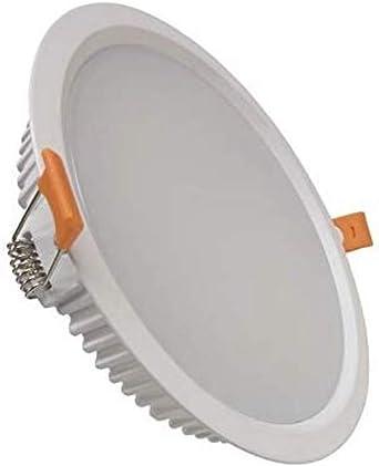 Diametro 20cm. Pack 10 unidades Foco downlight led 18W blanco Fr/ío Redondo y empotrable