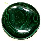 52.45Cts. RARE! NATURAL GREEN DESIGNER MALACHITE ROUND CAB LOOSE GEMS AFRICA