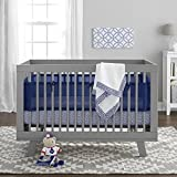 BreathableBaby 3 Piece Core Bedding Set, Navy