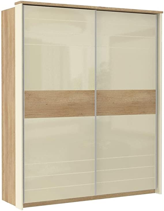 Armario Dormitorio Marrón Claro 225 x 188 x 64 cm, armario de ...