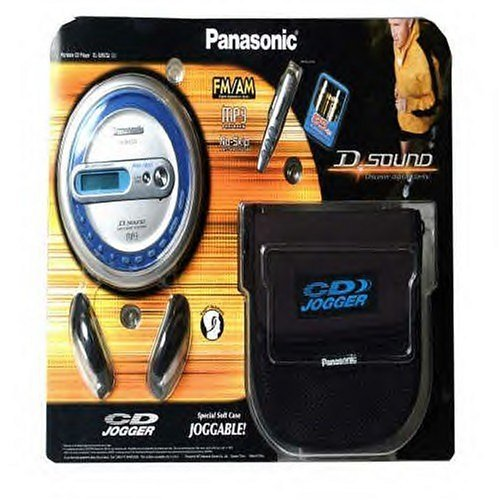 PANASONIC PORTABLE CD PLAYER / MP3 / FM/AM - MODEL SL-SV573