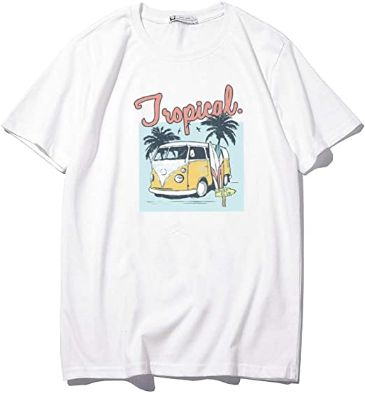 H.ZHOU Camiseta de Manga Corta para Hombre 100% Algodón TY-032 ...