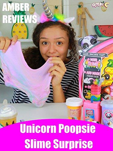 Amber Reviews Unicorn Poopsie Slime Surprise