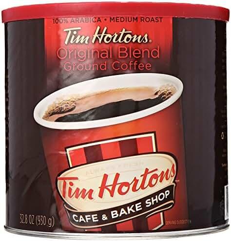 Tim Hortons 100% Arabica Medium Roast Original Blend Ground Coffee, 32.8 Ounce