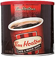 Tim Hortons 100% Arabica Medium Roast Or...