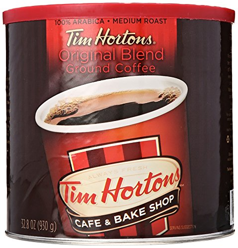 Tim Hortons 100  Arabica Medium Roast Original Blend Ground Coffee  32 8 Ounce