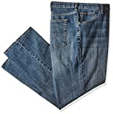 LEE Men's Big and Tall Premium Select Custom Fit Relaxed Straight Leg Jean, thatch, 46W x 30L