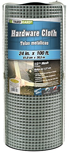 (G & B 308246BP Mesh Hardware Cloth, 2-Feet by 100-Feet by 1/2-Inch)