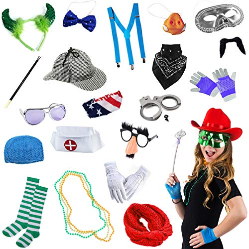 Tigerdoe Photo Booth Props – Costume Accessories – Dress Up Prop – Assorted Props for Photo Booth 14 -