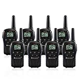Midland LXT500VP3 2 Way Radio 8 PACK Plus Rechargeable Batteries and Chargers