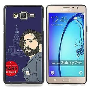 30 Seconds Leto Caja protectora de pl??stico duro Dise?¡Àado King Case For Samsung Galaxy On7 G6000