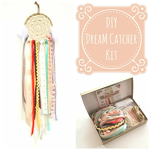 DIY Doily Dream Catcher Kit for Children or Adults. Make Your Own Craft Project
