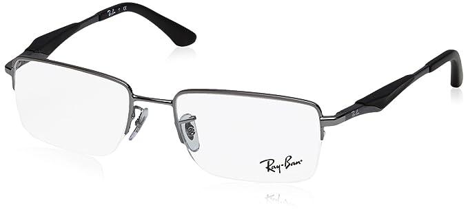e7bea2f7eb spain ray ban tech rx8901 carbon fibre 5244 eyegl c553f d0185  cheap ray ban  mens rx6285 eyeglasses gunmetal 53mm 91282 9bcdd