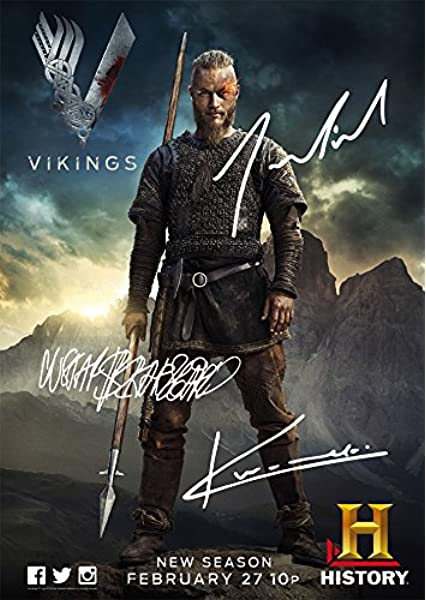 VIKINGS AUTOGRAPHED SIGNED A4 PP POSTER PHOTO PRINT 11 KATHERYN WINNICK