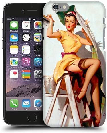 Case Fun Help Wanted Pin Up Girl Snap-on Hard Back Case Cover for ...