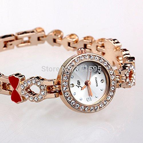 ultismart £ š TM) pulsera reloj Casual esfera redonda señoras ...